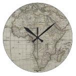 Reloj viejo del mapa de Afrimex Urbano Afircan