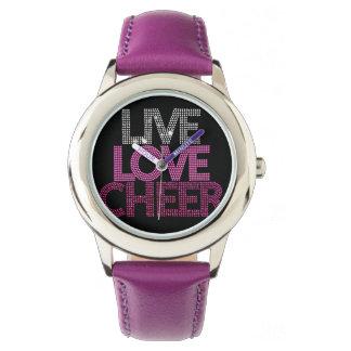 Reloj vivo de la alegría del amor