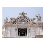 Reloj y Bell, Ciudad del Vaticano, Roma, Italia Tarjeta Postal