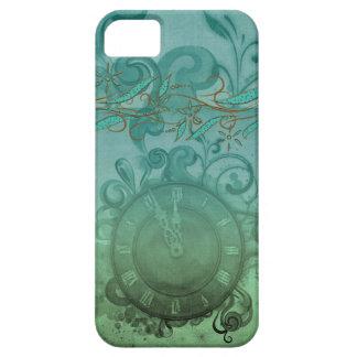 reloj y remolinos de tiempo bonito del steampunk d iPhone 5 Case-Mate protector