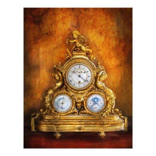 """Relojero - cualquier persona tiene el tiempo folleto 8.5"""" x 11"""""""