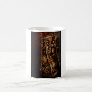 Relojero - cuidadoso, muerdo taza clásica