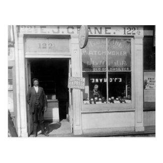 Relojero de Richmond: 1899 Postal