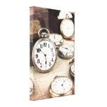 Relojes de bolsillo lona estirada galerias