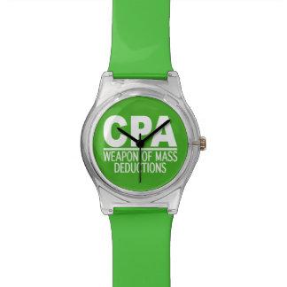Relojes de encargo del color de CPA
