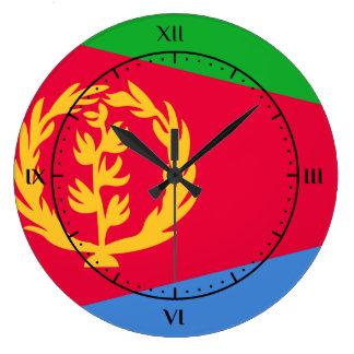 Relojes de la bandera del Eritrean