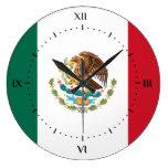 Relojes de la bandera mexicana