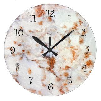 Relojes de la cocina de la pared de la mirada del