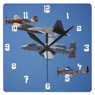 Relojes de la imagen de los aviones/de los jets de