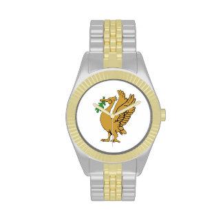 Relojes de Liverbird del oro