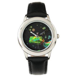 Relojes de los colores del arco iris del lagarto