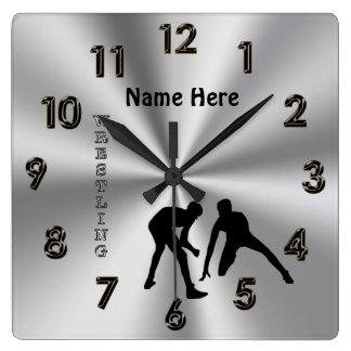 Relojes de lucha personalizados con su NOMBRE