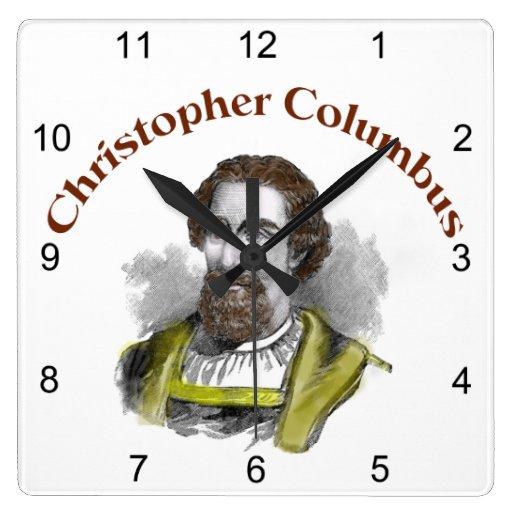 Relojes de pared de Cristóbal Colón