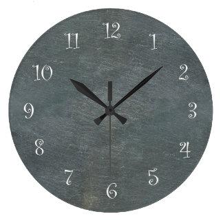 Relojes de pared de la cocina de la mirada de la p