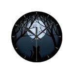 Relojes de pared del amante del gato del reloj gor