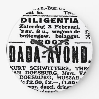 Relojes de pared del ANUNCIO de DADA 1923) (