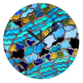 Relojes de pared del arte abstracto 80 y opciones