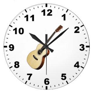 """Relojes de pared del diseño """"de la guitarra"""