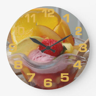 Relojes de pared del helado del helado