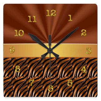 Relojes de pared elegantes y únicos de la sala de