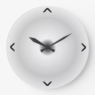 Relojes de pared grises claros > redondos minimali