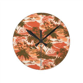 Relojes de pared hawaianos de la bahía de Napili