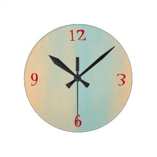 Relojes de pared llanos de Design> de la teja muy