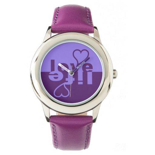 Relojes del amor/de la vida
