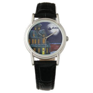 Relojes del arte popular del día de fiesta de la