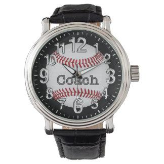 Relojes del béisbol para los coches: Regalos del