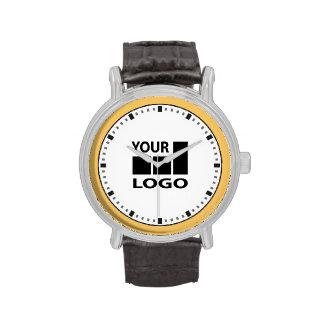 Relojes del color y del logotipo de Custom Company