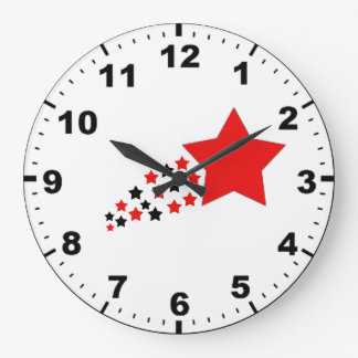 Relojes del diseño de la estrella