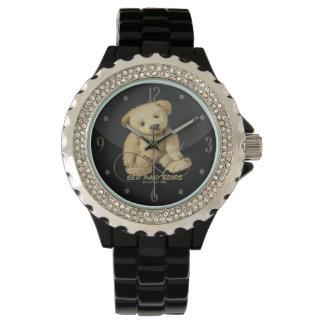 Relojes del diseño de los artistas del oso