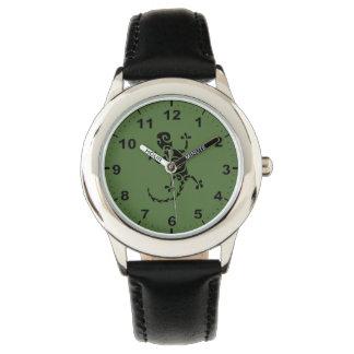 Relojes del diseño del Gecko