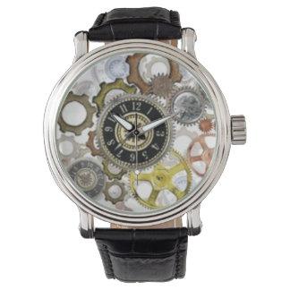 Relojes del mecanismo de Steampunk
