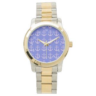Relojes del modelo del ancla