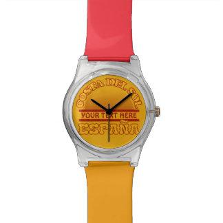 Relojes del personalizado de Costa del Sol