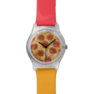 Relojes del personalizado de la PIZZA