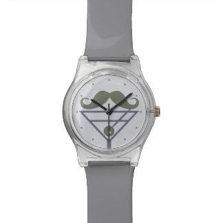 Relojes del personalizado del bigote de Martini