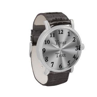 Relojes del reloj PERSONALIZADO del GRAN número pa
