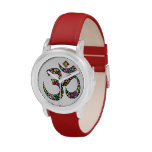 Relojes del símbolo de la yoga de OM Aum Namaste