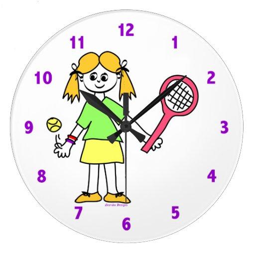 Relojes del tenis para los chicas