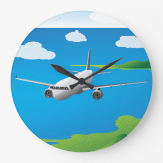 Relojes del vector del avión de pasajeros A321