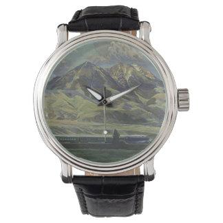 Relojes del viaje del vintage de Montana los