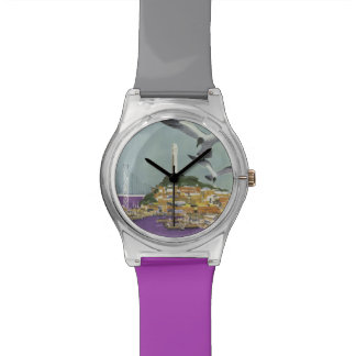 Relojes del viaje del vintage de San Francisco los
