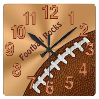 Relojes frescos adaptables del fútbol para los