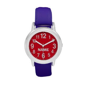 Relojes GRANDES del NÚMERO para los niños y los
