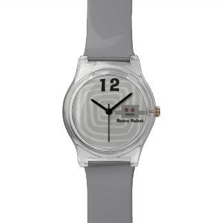 Relojes hipnóticos del personalizado del remolino
