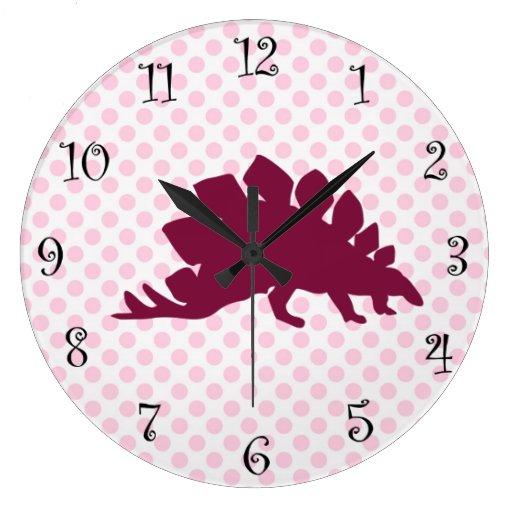 Relojes lindos del dinosaurio de los chicas