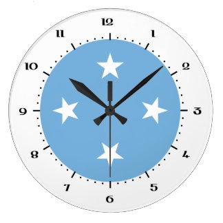 Relojes micronesios de la bandera